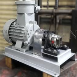 Bộ bơm bánh răng  lắp sẵn motor , Model : FTSS-075